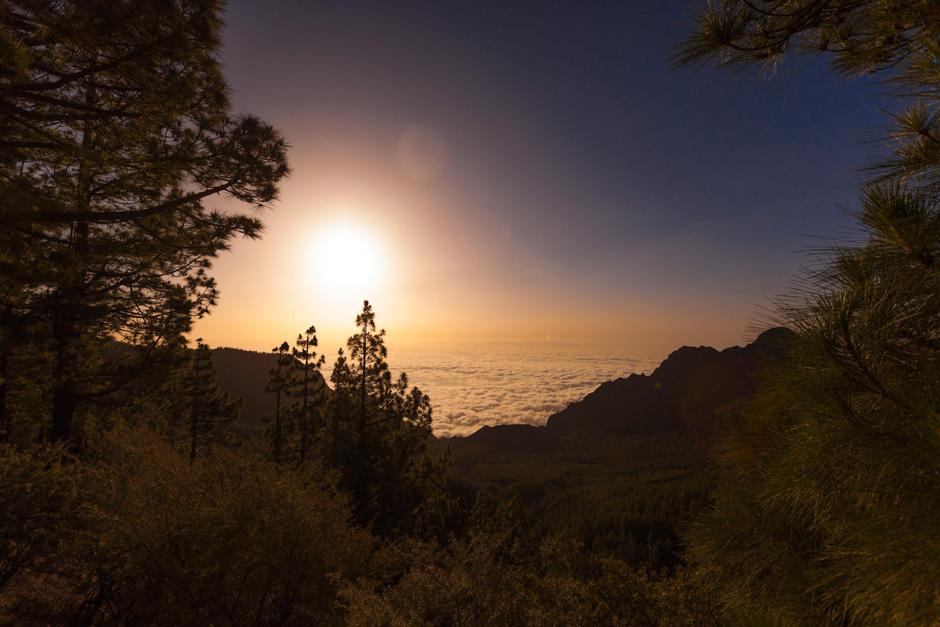 Atardecer desde el Teleférico Teide
