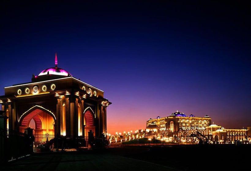 Así es el hotel Emirates Palace de Abu Dhabi