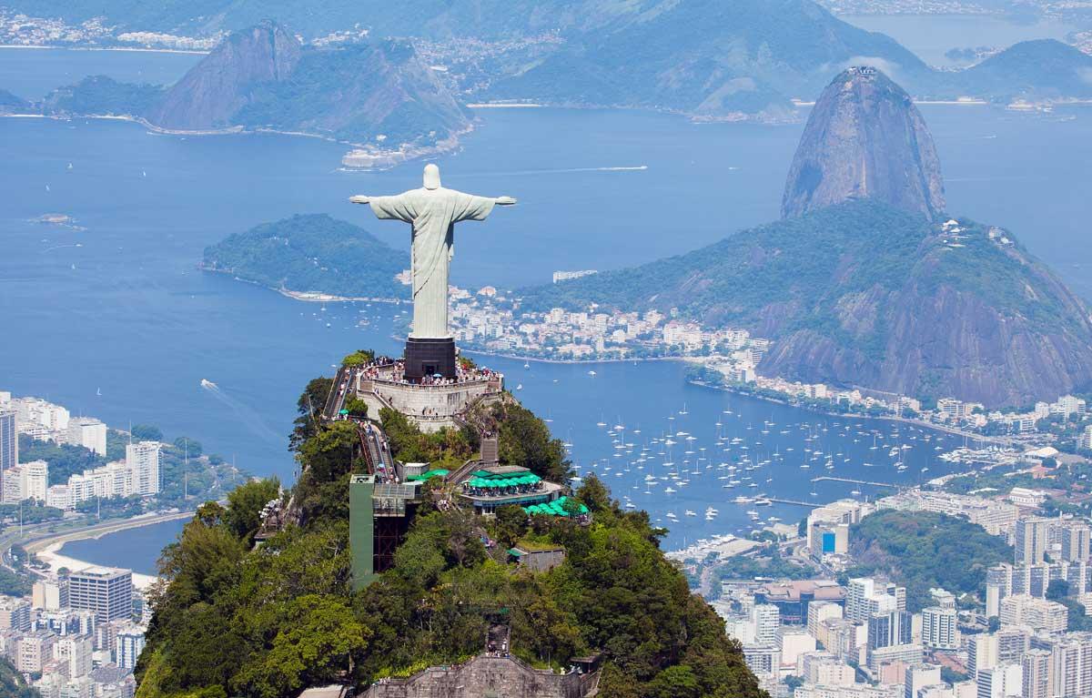 Cristo Redentor, Río de Janeiro (Brasil)