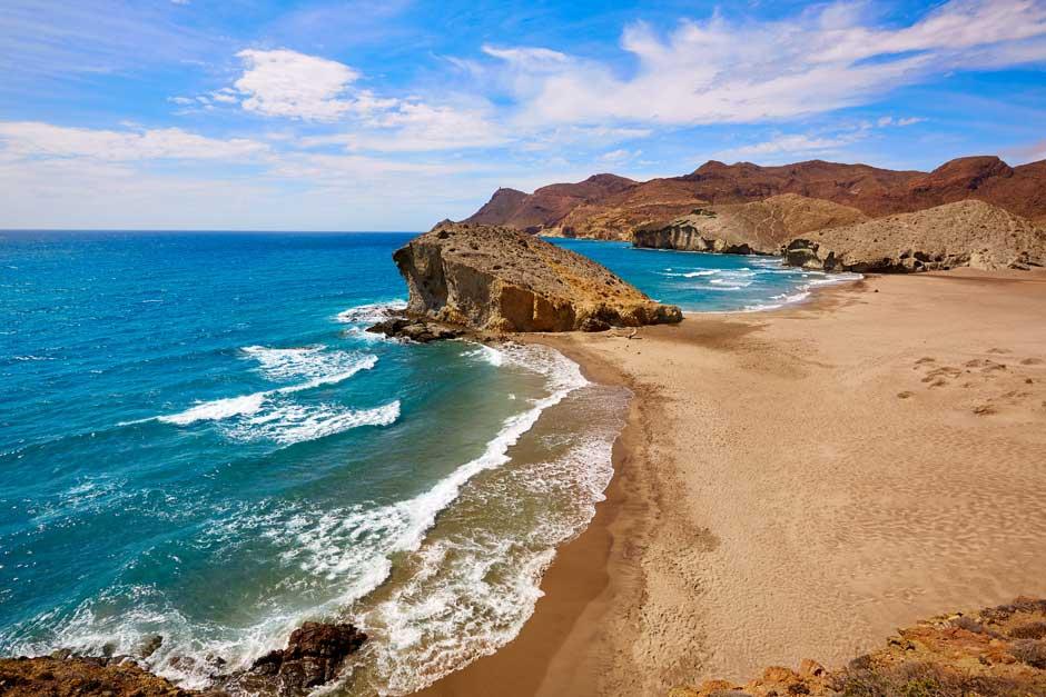 Playa de Monsul, Almería