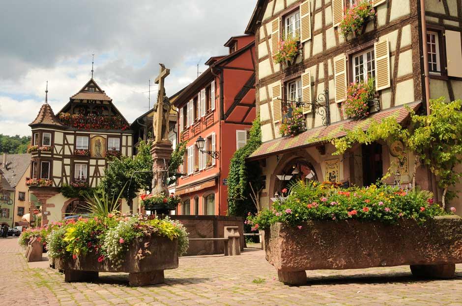 Kaysersberg, el pueblo más bonito de Francia
