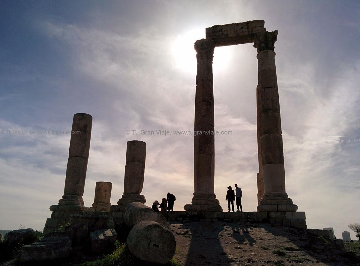 3. El Templo de Hércules en la Ciudadela de Ammán