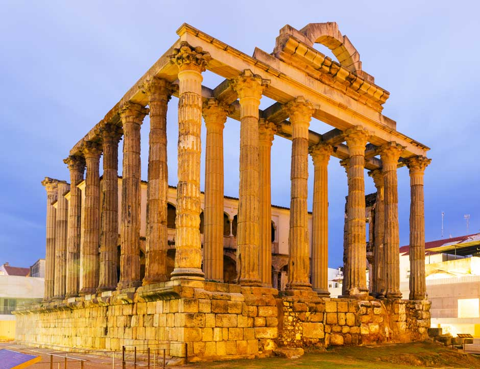 Seguir las huellas del Imperio Romano en Mérida