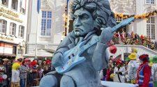 Beethoven en el Desfile del Lunes de las Rosas de Bonn. Foto © Michael Sondermann / Beethoven Jubiläums Gesellschaft gGmbH
