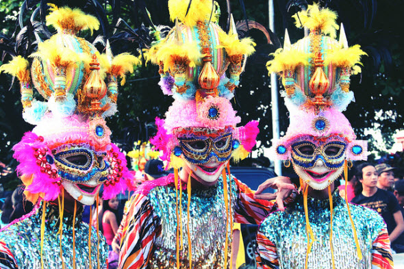 Masskara Festival, Bacolod City, Filipinas