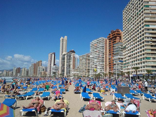 Playa de Levante, Benidorm. Foto (c) Javier Olivares | tu gran viaje a benidorm | Viajar a Benidorm