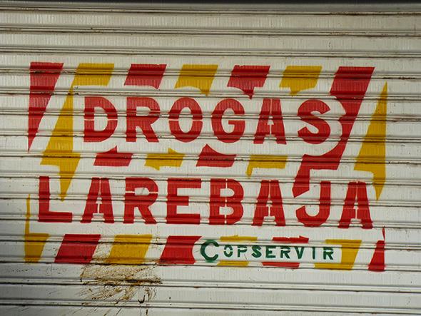 Grafiti en una pared de Cartagena de Indias, Colombia