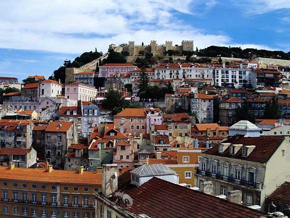 Panorámica de Lisboa. Viajes a Portugal