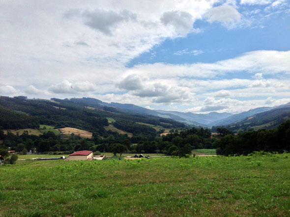 Valle de Guriezo desde la iglesia de San Sebastián. © Tu Gran Viaje | Viajar a Cantabria en invierno