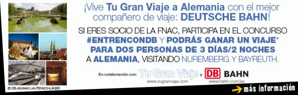 Concurso Fnac #EnTrenConDB (c) Tu Gran Viaje