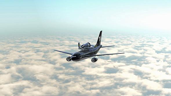 Volar al espacio