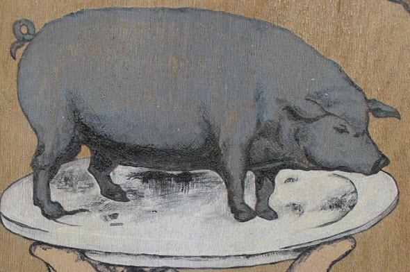 El cerdo el mejor amigo del hombre Foto Jesus g marin