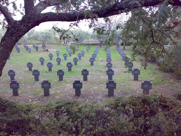 Cementerio Alemán de Cuacos de Yuste. Foto © Francisco Jódar