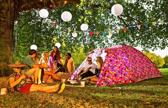 Glamping de lujo con las Bang Bang Tents