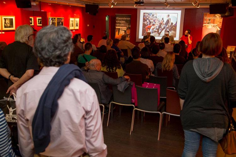 Evento de Tu Gran Viaje #FlandesEsUnFestival en Fnac Callao. Foto © Daniel Aragón