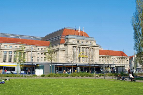 Estación de tren de Leipzig Foto © LTM - Schmidt