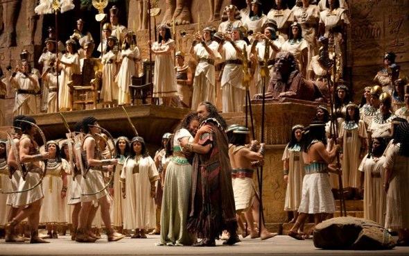 El Gobierno de Egipto llevará a su escenario original la ópera Aida como una iniciativa para promocionar la cultura y el turismo del país