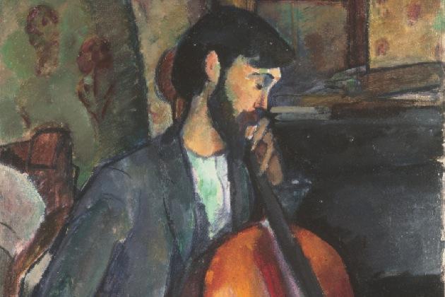El violonchelista de Modigliani, Colección Abelló