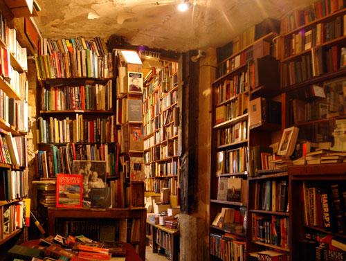 Librería shakespeare & Co., París