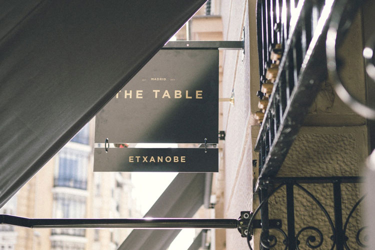 Entrada The Table By Etxanobe