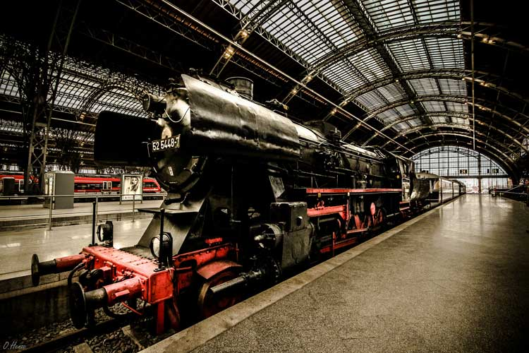 La estación Central de Leipzig es la mayor de Alemania y de una de las más grandes del mundo. Foto Oliver Henze Flickr CC 2.0