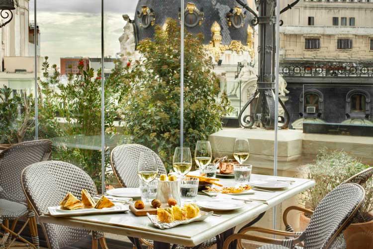 Restaurante Ático de Ramón Freixa en el Hotel The Principal Madrid
