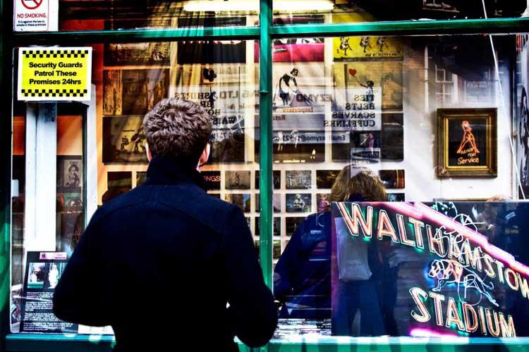 El arte desde afuera. Foto de Carmelo Sánchez