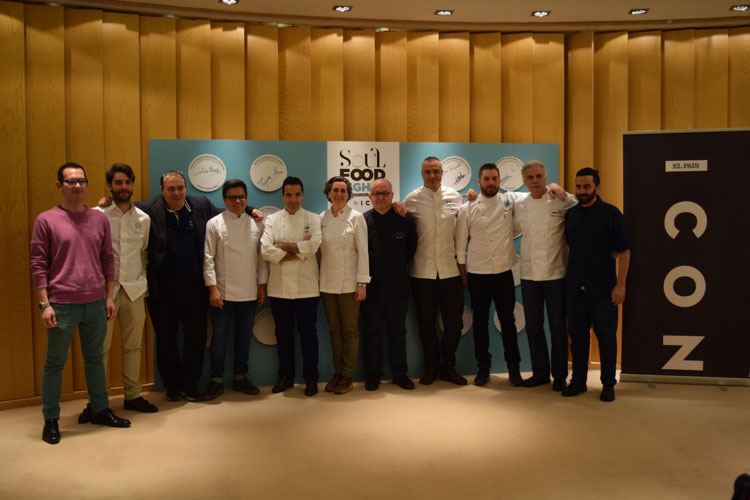 Chefs participantes en Soul Food Nights by Icon