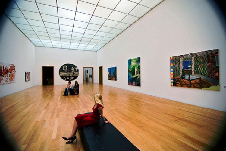 Interior del Museo de Bellas Artes de Leipzig. © LTM - Brzoska _MdbK_Innen_leipzig-750