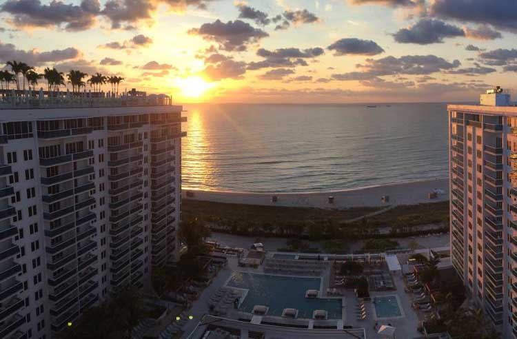 Apertura del 1 Hotel South Beach, Miami