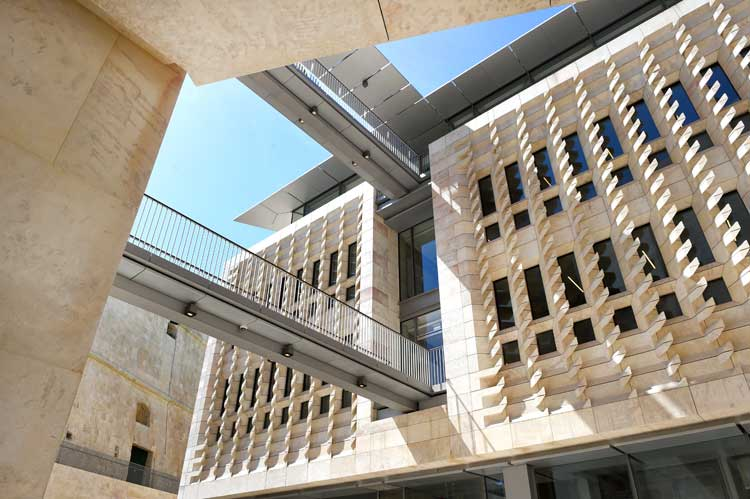 Completado el proyecto Valletta City Gate de Renzo Piano