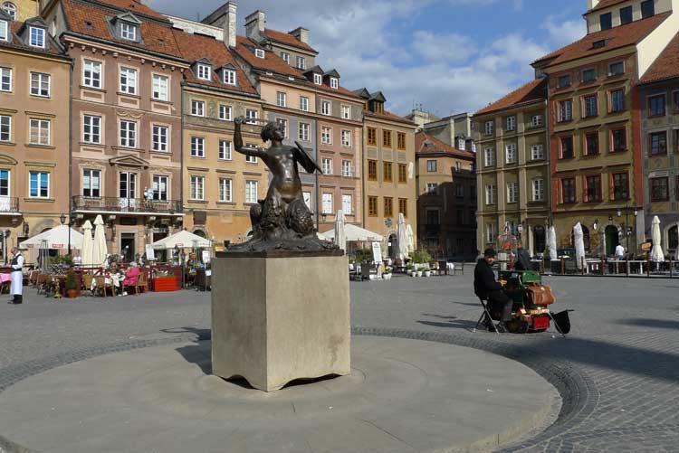 Plaza del Mercado de la Nueva Ciudad (Rynek Nowego Stari), Varsovia. Foto © Ángel Ingelmo