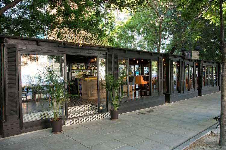 Inauguración de la terraza Punk Bach de Madrid