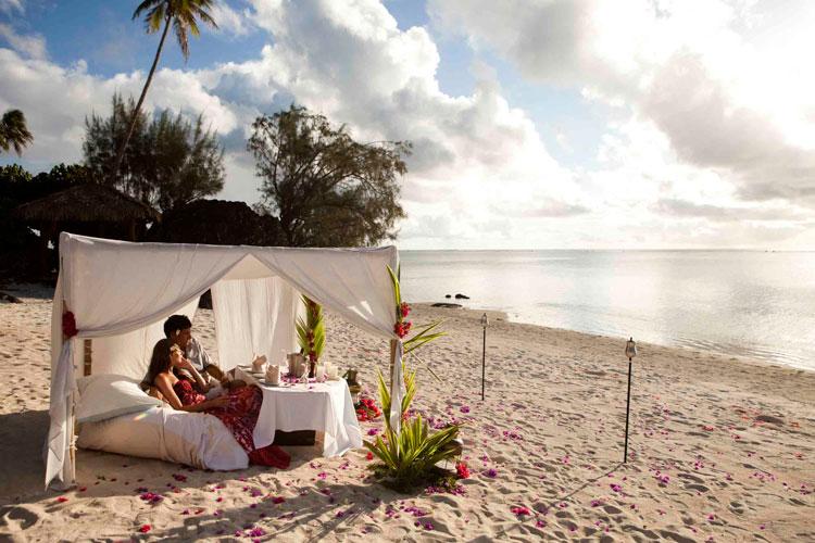 De boda en las islas Cook