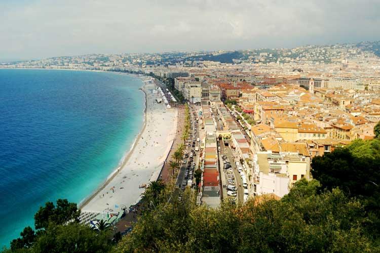 Panorámica de Niza. Foto © Tu Gran Viaje