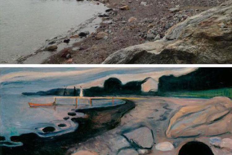 Cuaderno de viaje. Noruega y Edvard Munch