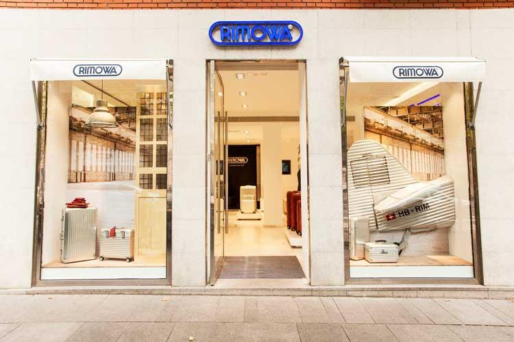 Tienda Rimowa de Madrid