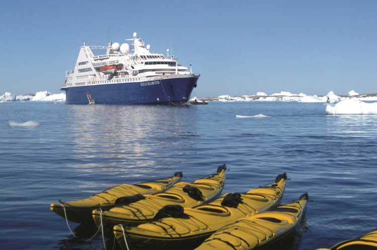 Crucero Mares Vikingos de Island Tours en el MS Ocean Diamond