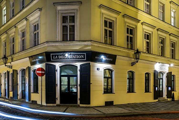 Restaurante La Degustation de Praga