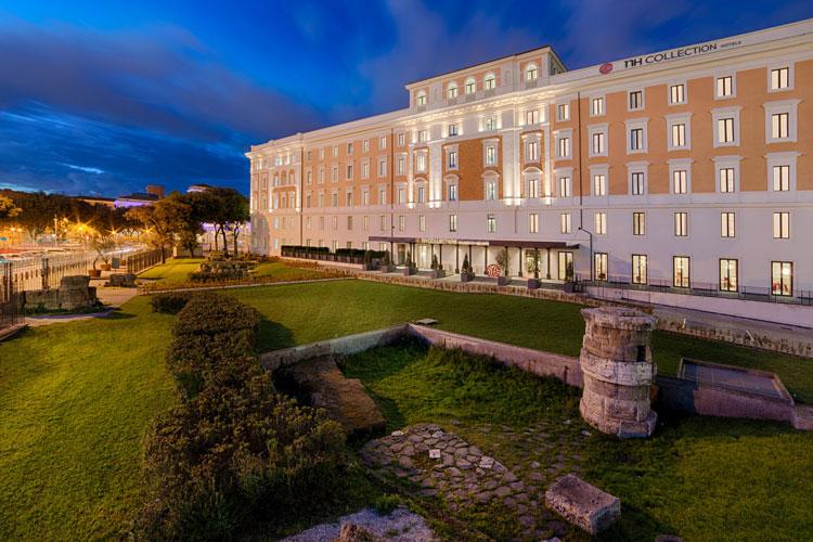Fachada del NH Collection Palazzo Cinquecento de Roma
