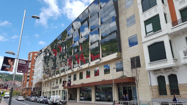 Fachada del Gran Hotel Domine Bilbao. © Tu Gran Viaje