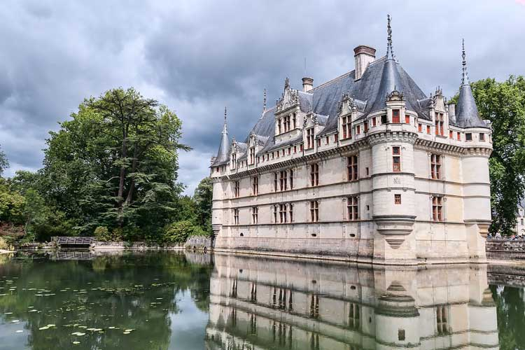 Château de Azay-le-Rudeau. Foto CC Jean Christophe Benoist.. Tu Gran Viaje por el Valle del Loira