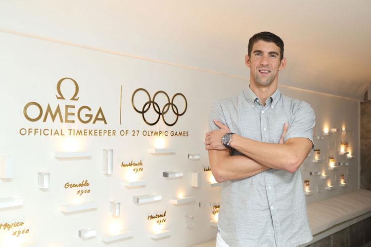 OMEGA reúne a las leyendas de la natación Michael Phelps, Chad le Clos y Alexander Popov