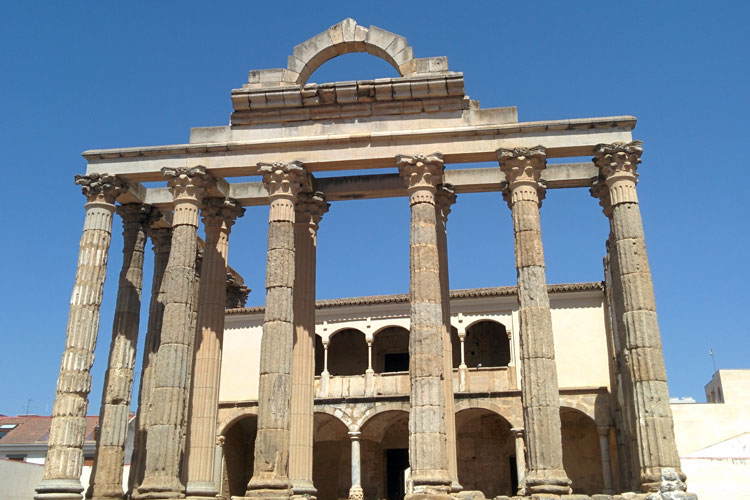 Templo de Diana, en Mérida. © Tu Gran Viaje