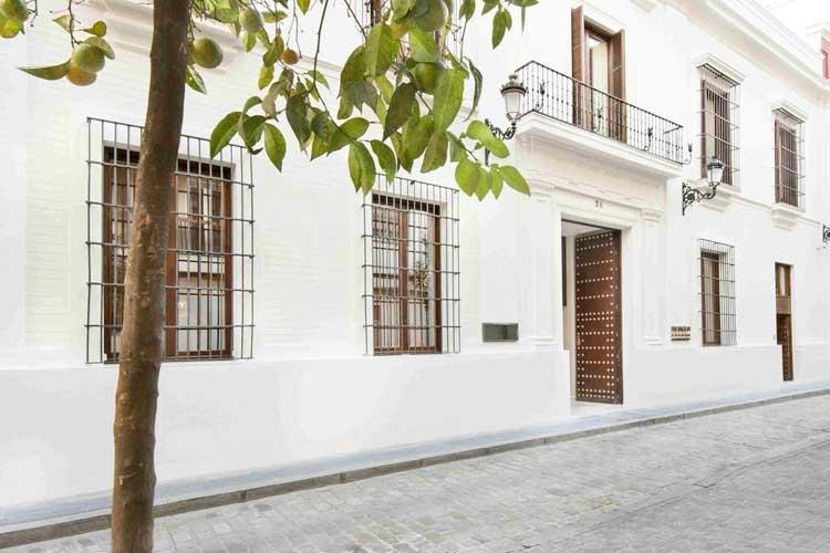 Fachada del hotel Mercer Sevilla. Tu gran Viaje