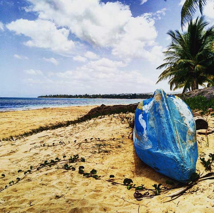Playa de Las Terrenas, península de Samaná. Tu Gran Viaje a República Dominicana. © tu Gran Viaje