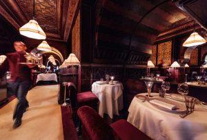 Restaurant L'Italien. Hotel La Mamounia de Marrakech. Los Mejores hoteles del mundo en Tu Gran Viaje