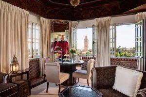 Suite Koutobia. Hotel La Mamounia de Marrakech. Los mejores hoteles del mundo en Tu Gran Viaje