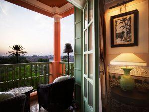 Vistas desde la Suite. Hotel La Mamounia de Marrakech. Los mejores hoteles del mundo en Tu Gran Viaje