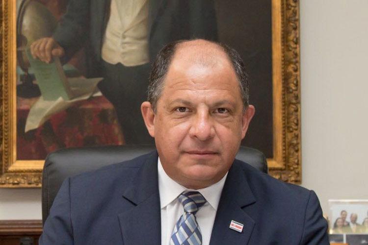 Luis Guillermo Solís, Embajador especial del Año Internacional del Turismo Sostenible y Presidente de Costa Rica